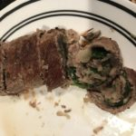 Spinach and Mushroom Steak