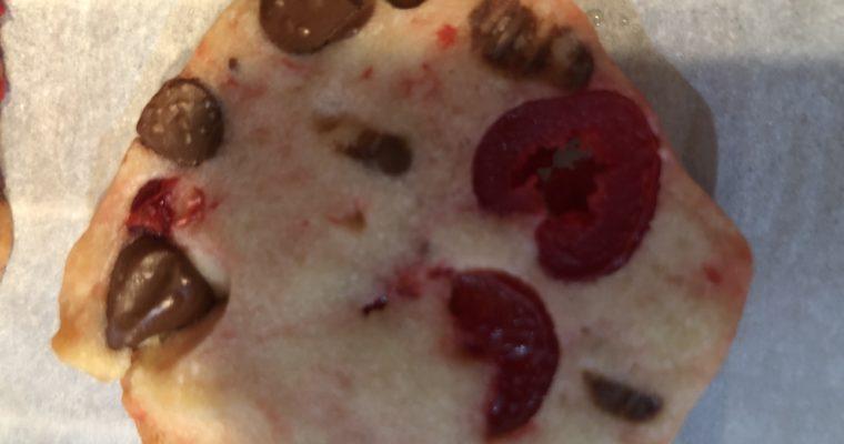 Maraschino Cherry Chocolate Chip Cookies