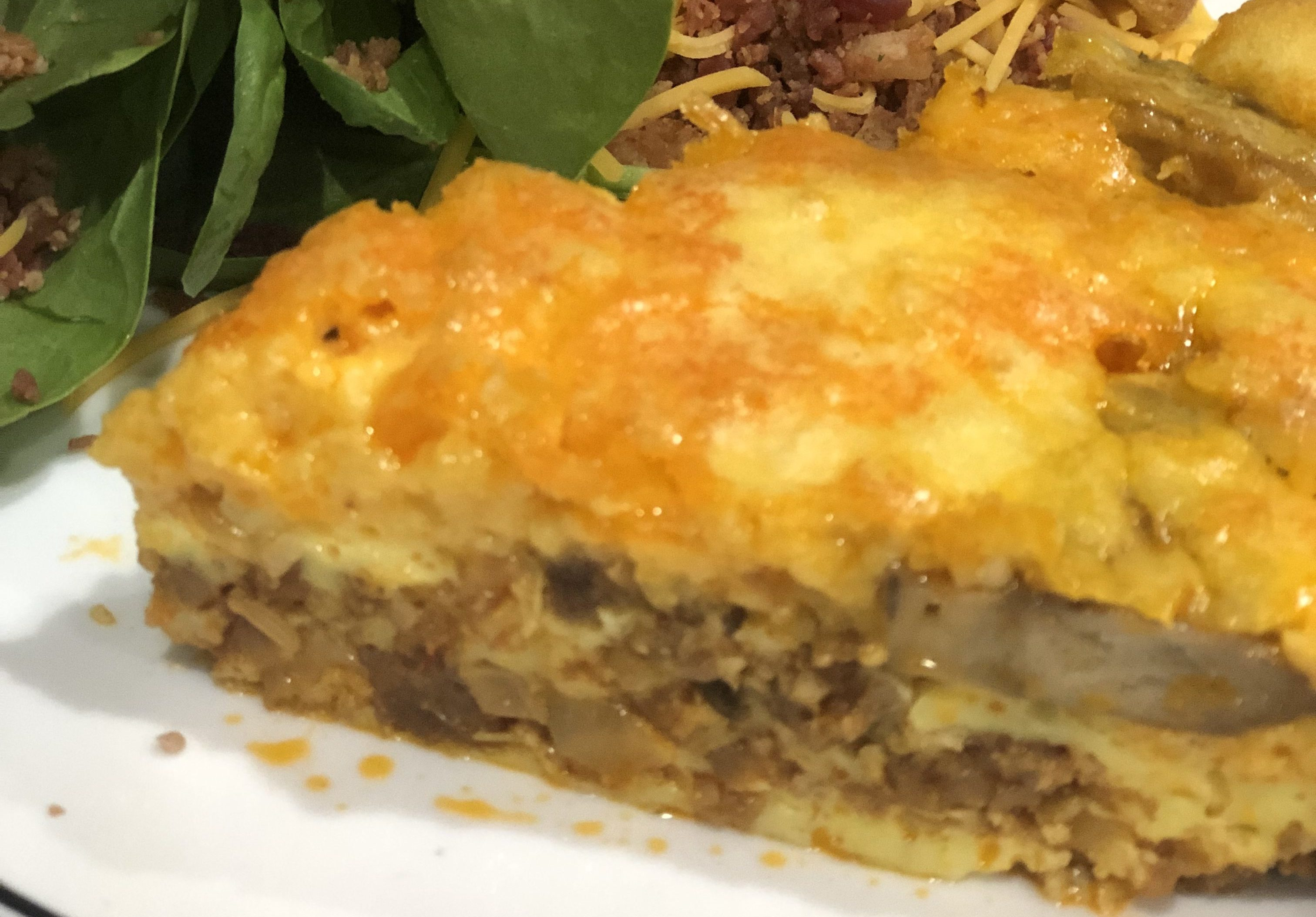 Sausage and Caramelized Onion Quiche