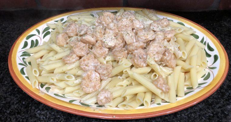 Cajun Shrimp and Pasta