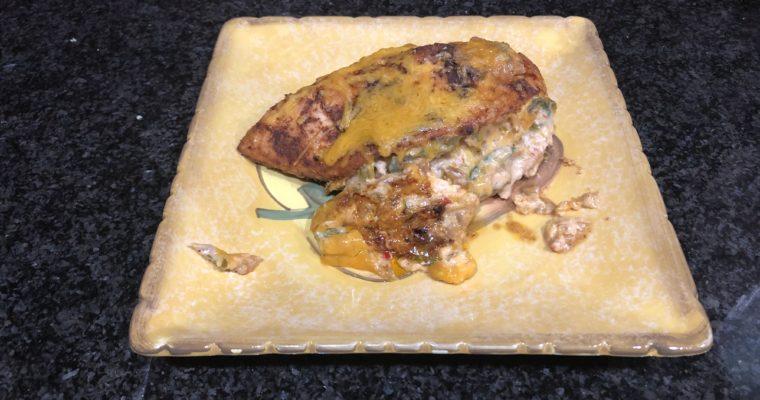 Fajita Stuffed Chicken