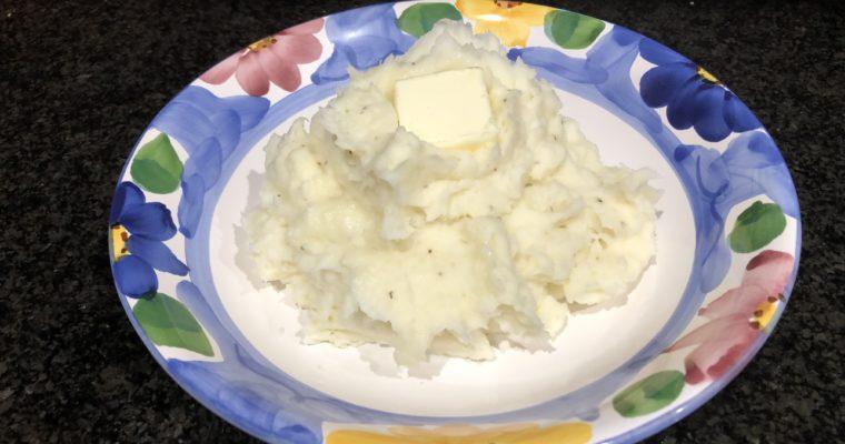 InstaPot Garlic Mashed Potatoes