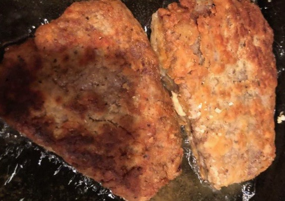 Country Fried Steak with Pepper Gravy