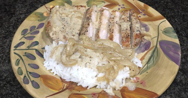 Curried Pork Chops
